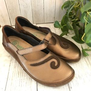 NAOT • Leather Mary Jane Comfort Shoes